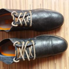 Pantofi barbati, Piele naturala - Pantofi Bugatti originali, piele naturala, marimea 41, 5-26 cm.