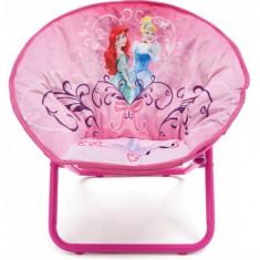 Masuta/scaun copii - Fotoliu pliabil pentru copii Disney Princess