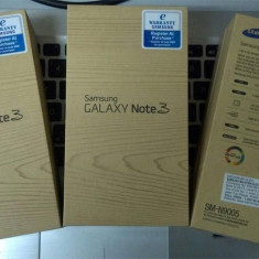 Telefon mobil Samsung Galaxy Note 3 - Samsung Galaxy Note 3 alb nou