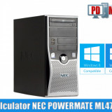 Calculator NEC POWERMATE ML470 Procesor 2, 33 GHz Memorie DDR2 2GB HDD 80 GB - Sisteme desktop fara monitor, Intel Core 2 Duo, 2001-2500 Mhz, 40-99 GB, LGA775