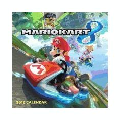 Carte Literatura Engleza - Mario Kart 2016 Wall Calendar