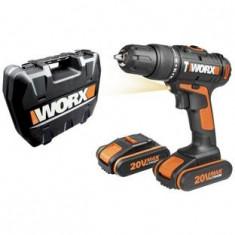 Surubelnita cu percutie WORX 20V LI ON 2 baterii - Surubelnita electrica