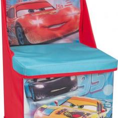Scaun Si Cutie Pentru Depozitare Disney Cars - Set mobila copii