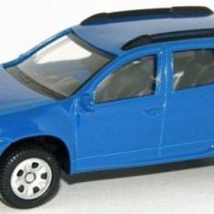 Macheta Auto Dacia Duster Albastru Cu Licenta