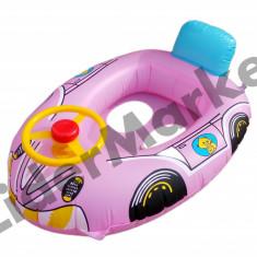 Colac de inot bebe cu volan si spatar - multiple culori
