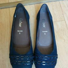 Pantofi dama Gabor, Piele naturala - Pantofi din piele firma Gabor marimea 38, sunt noi!