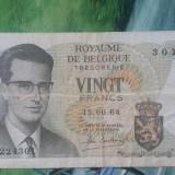 BELGIA - 20 FRANCS 1964, Europa