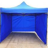 Pavilion cort 3x3 nou pliabil, metal structura rezistenta, Numar persoane: 4