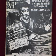 Carte despre Paranormal - Vlaicu Ionescu - Prabusirea Imperiului Sovietic si viitorul Romaniei in profetiile lui Nostradamus - 545118