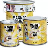 Bricolaj - Vopsea magnetica 2.5L se pot pune magneti pe suprafata pe care se aplica