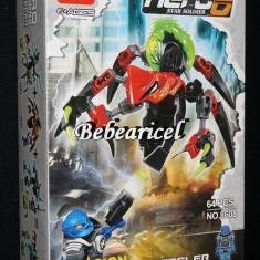 Joc tip HERO FACTORY - robot de lupta cu pilot HERO 6 - model 8608 - LEGO Hero Factory