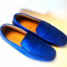 Mocasini Tod's marimea 43 - Mocasini barbati Tod's, Culoare: Albastru