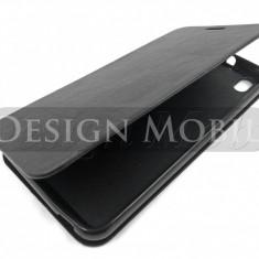HUSA HTC DESIRE 816 FLIP TIP CARTE SUPER OFERTA - Husa Telefon HTC, Negru, Piele Ecologica, Cu clapeta, Toc