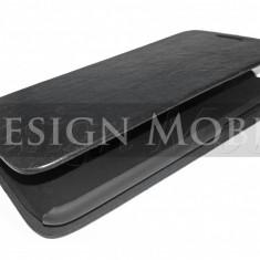 HUSA HTC DESIRE 601 FLIP TIP CARTE SUPER OFERTA - Husa Telefon HTC, Negru, Piele Ecologica, Cu clapeta, Toc