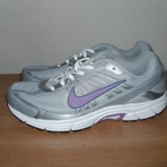 Pantofi sport dama, adidasi alergat, marca Nike Dart 8, marime 39 - Adidasi dama Nike, Culoare: Gri, Piele sintetica