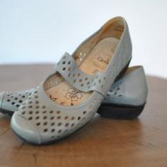 Pantofi dama - CAPRICE PANTOFI DE PIELE SUPER COMOZI MARIMEA 37.5