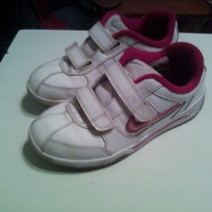Pantofi sport Nike - Adidasi copii Nike, Marime: 30, Culoare: Alb