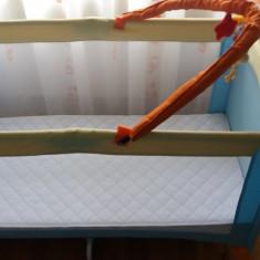 Patut pliant bebelusi Baby-Italia, 120x60cm - Patut bebe