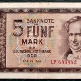 P1 GERMANIA RDG 5 Deutsche Mark Marci 1964 sr 686442, Europa, An: 1964