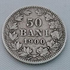 Monede Romania, An: 1900, Argint - 50 BANI 1900 ARGINT