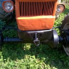 Utilitare auto - Tractor Fiat 650+REMORCA