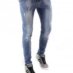 Blugi tip Zara fashion - blugi barbati blugi conici CALITATE GARANTATA cod 6275