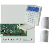 Sisteme de alarma - KIT DE ALARMA ANTIEFRACTIE PARADOX SP4000CU+K35++2x476+