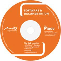 DVD instalare-actualizare hărţi pentru Navigatoare GPS - MIO Moov (2009) - Software GPS