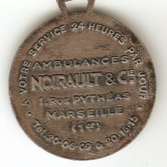 CRUCEA ROSIE AMBULANTA FRANTA 1924 MEDALIE, Europa
