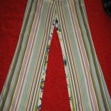 BLUGI Rosner colorati Mar 38/ 40 - Blugi dama, Culoare: Multicolor, Drepti, Lungi, Normal, Normala