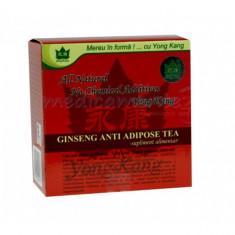 Ceai antiadipos cu ginseng YK - 30 pl - Ceai naturist