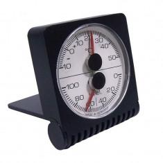 Termometru - Higrometru TFA din plastic cu suport
