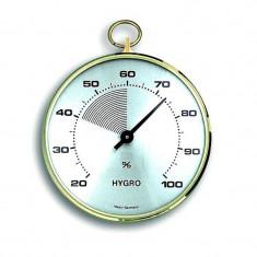 Termometru - Higrometru TFA cu inel de alama