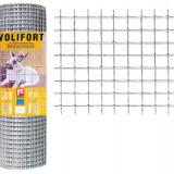 Plasa de gard zincata Volifort 1x10m 0.9x13x13mm