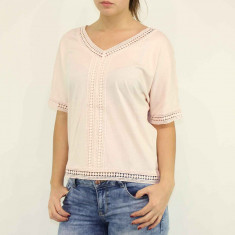 Bluza dama tip ie - Vero Moda - 10152374 roz pudrat