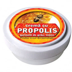Crema cu tinctura de propolis, ulei din germeni de grau, miere de albine 15 g
