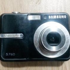 Aparat Foto compact Samsung, Compact, 8 Mpx, 3x, 2.5 inch - Aparat foto digital SAMSUNG s760 - 7, 2 MP