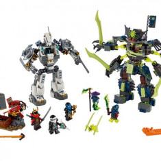 LEGO Ninjago - Lupta robotului titan (70737)