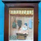 Cutie chei-cadou-cutie de lemn-