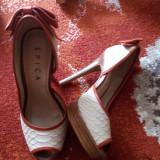 Sandale superbe - Sandale dama Epica, Marime: 36, Culoare: Nude