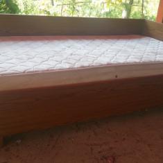 Pat de o persoana cu saltea - Pat dormitor