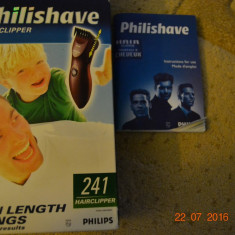 Aparat de Tuns Philips Philishave Hairclipper 241