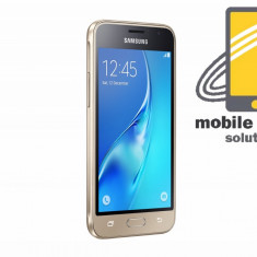 Samsung Galaxy J1 ( J120F ) 4G 8GB Gold! Factura si Garantie 24 de luni ! - Telefon Samsung, Negru, Neblocat, Single SIM