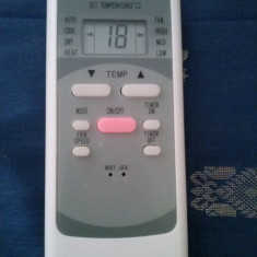 Telecomanda aer conditionat Electrolux, Orion