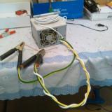 Aparat de sudura in punct / Electrofuziune DIY 400 A / 4.2 V