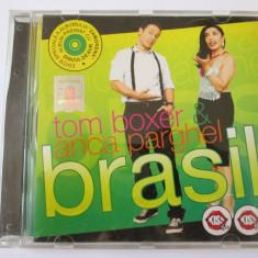 CD TOM BOXER & ANCA PARGHEL ALBUMUL BRASIL EDITIE SPECIALA, ROTON 2008 - Muzica House