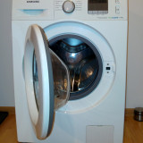 Masina de spalat rufe Slim Samsung Eco Bubble WF60F4E0W2W - Masini de spalat rufe