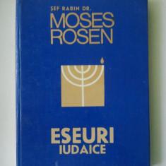 ESEURI IUDAICE - MOSES ROSEN ( C2 ) - Carti Iudaism