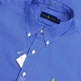 Camasa Ralph Lauren | Maneca lunga | Colectia noua XL - Camasa barbati Ralph Lauren, Culoare: Albastru