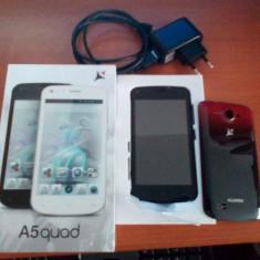 Telefon Allview A5 quad core, Negru, Neblocat